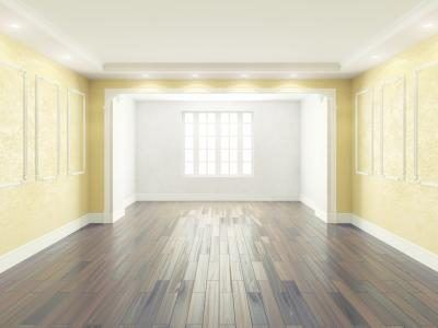 Yellow Walls Work Well With Oak Cabinetry And Dark Wood