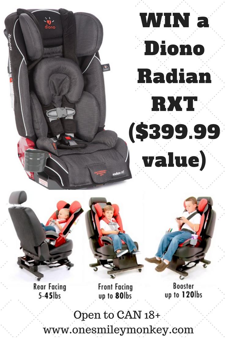 Diono Radian Rxt Car Seat Review Giveaway Car Seats Car Seat Reviews Baby Car Seats