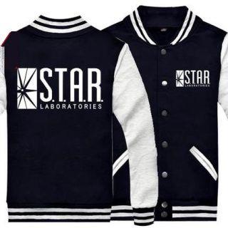 e1c23961 Plus size The flash baseball jackets star labs sweatshirt | the ...