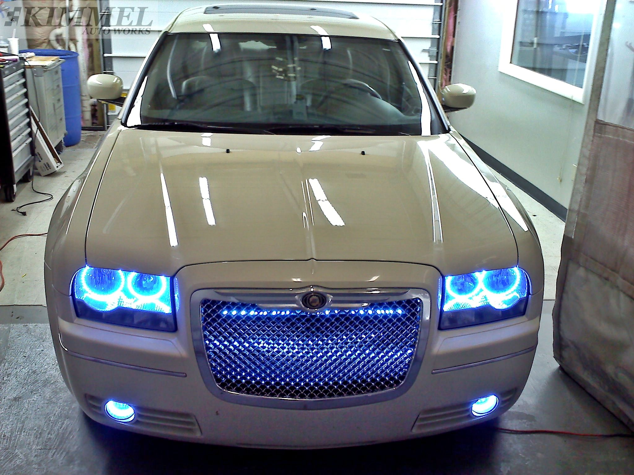 chrysler 300 with oracle halo eye headlights and oracle. Black Bedroom Furniture Sets. Home Design Ideas