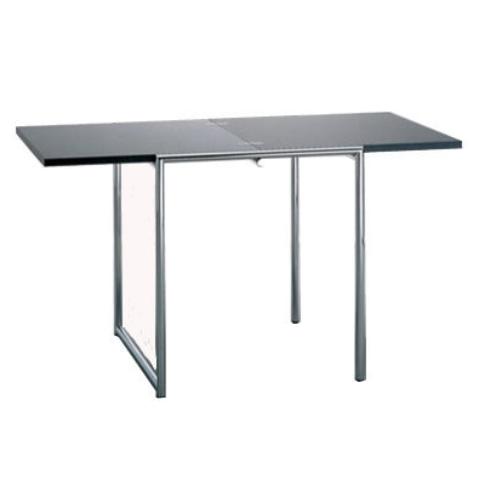 Eileen Gray Square Folding Table Folding Table Eileen Gray White Laminate