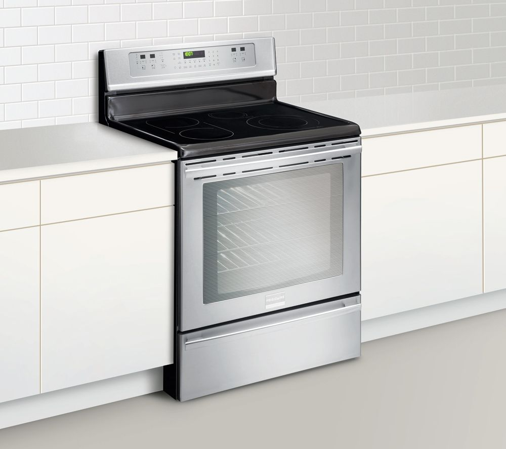 Ft Freestanding Hybrid Induction Range Stainless