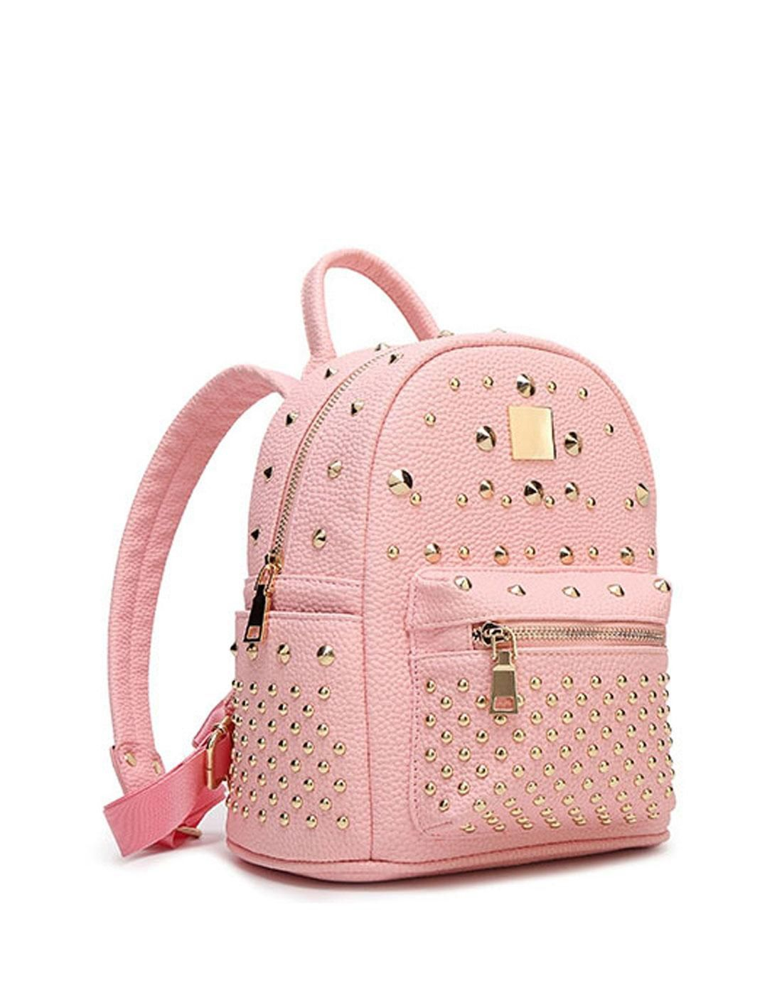 7487eb9381e7  AdoreWe  VIPme Backpacks - SVMONO Pink School Bags Backpacks for College  Girls - AdoreWe.com