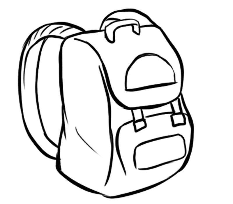 Dibujos Colegio Para Colorear Buscar Con Google Imagenes De Mochilas Mochilas Para Ninos Figuras Para Colorear