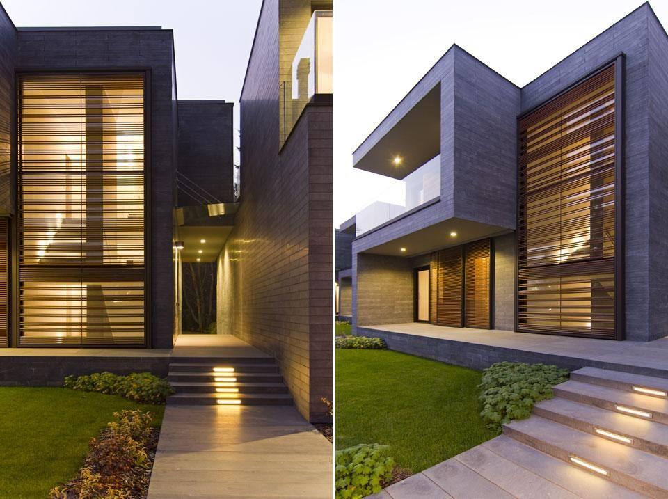 Blast architetti tre abitazioni unifamiliari gallarate for Design abitazioni
