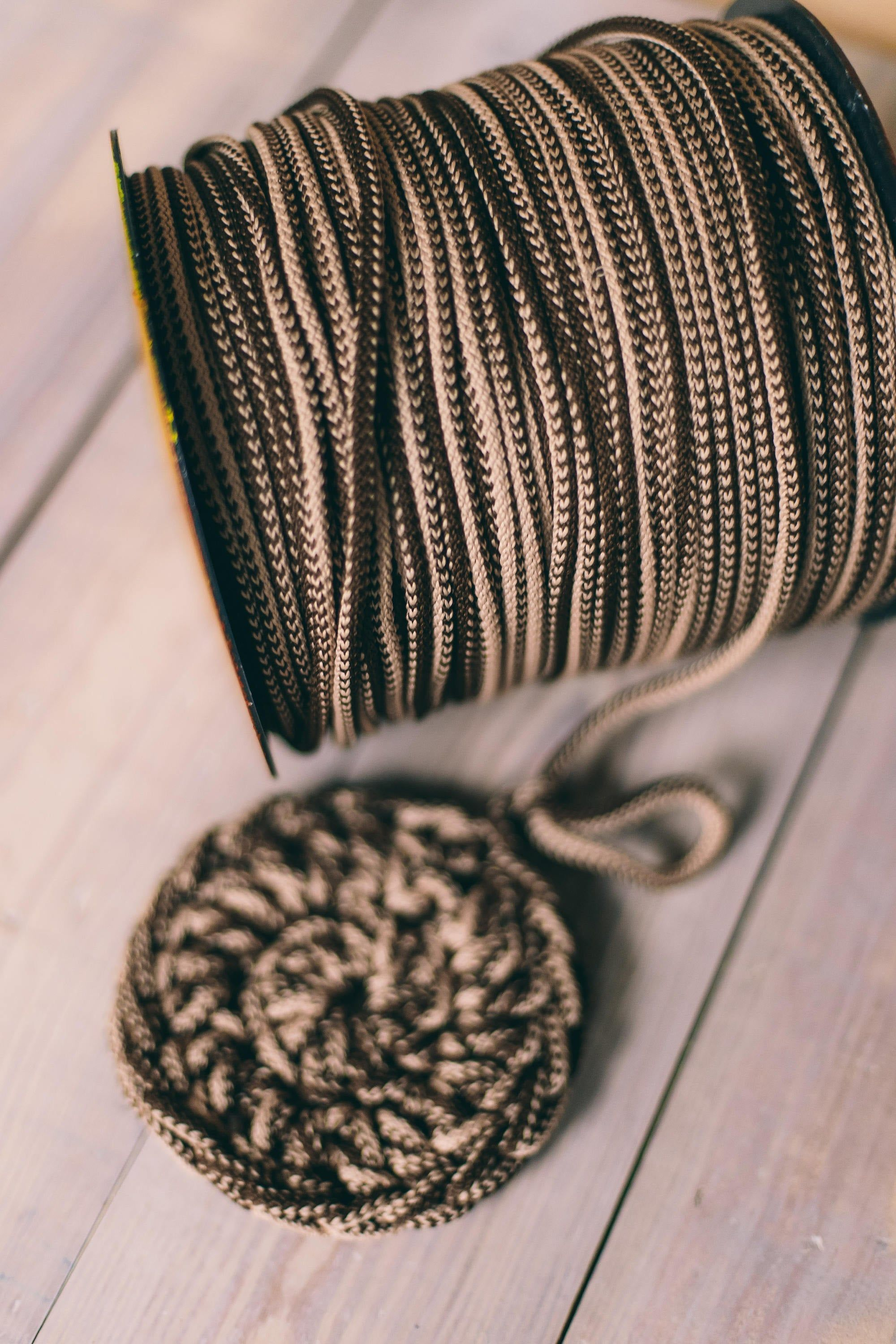 Mixed Brown Yarn Macrame Cord Craft Supplies Diy Projects