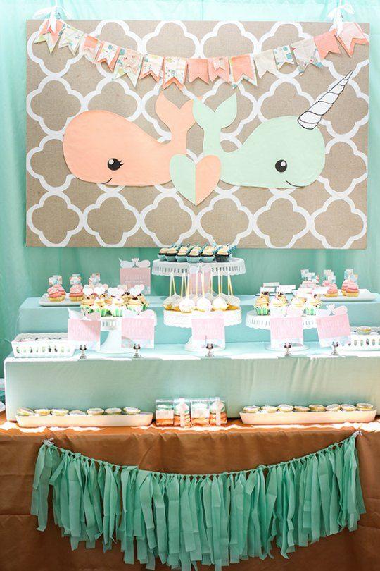 baby-shower-1By Maria Elena Lopez | Chichi | Pinterest | Mellizos ...