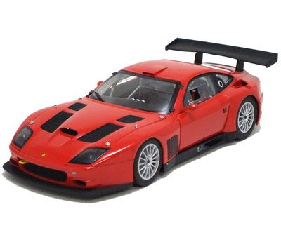 Kyoshoproduct Die Cast 118 Scale Ferrari 575 Gtc 2004 Red