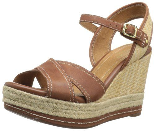 744dba33a54 Clarks Women s Amelia Air Espadrille Platform Wedges - Clarks IndigoTM  updates the strappy sandal with wide straps of rich