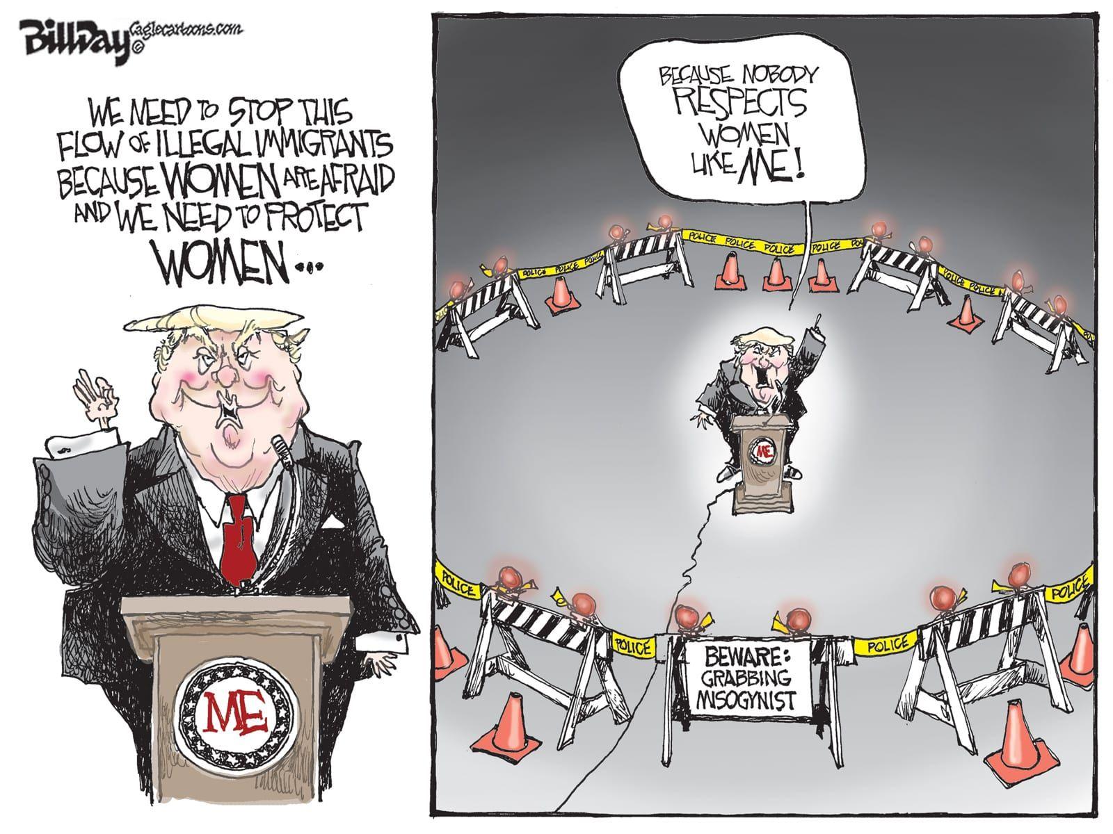 Editorial Cartoon: Respecter | Progressive and Proud | Funny