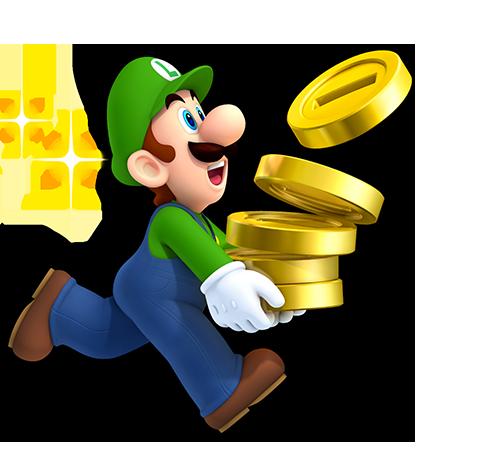 New Super Mario Bros  2 Luigi | Luigi | Super mario, Mario