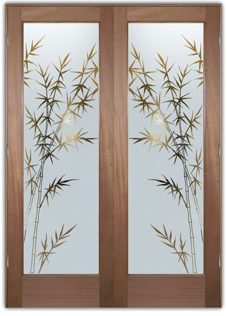 Interior Glass Doors Etched Glass Front Door Designer In