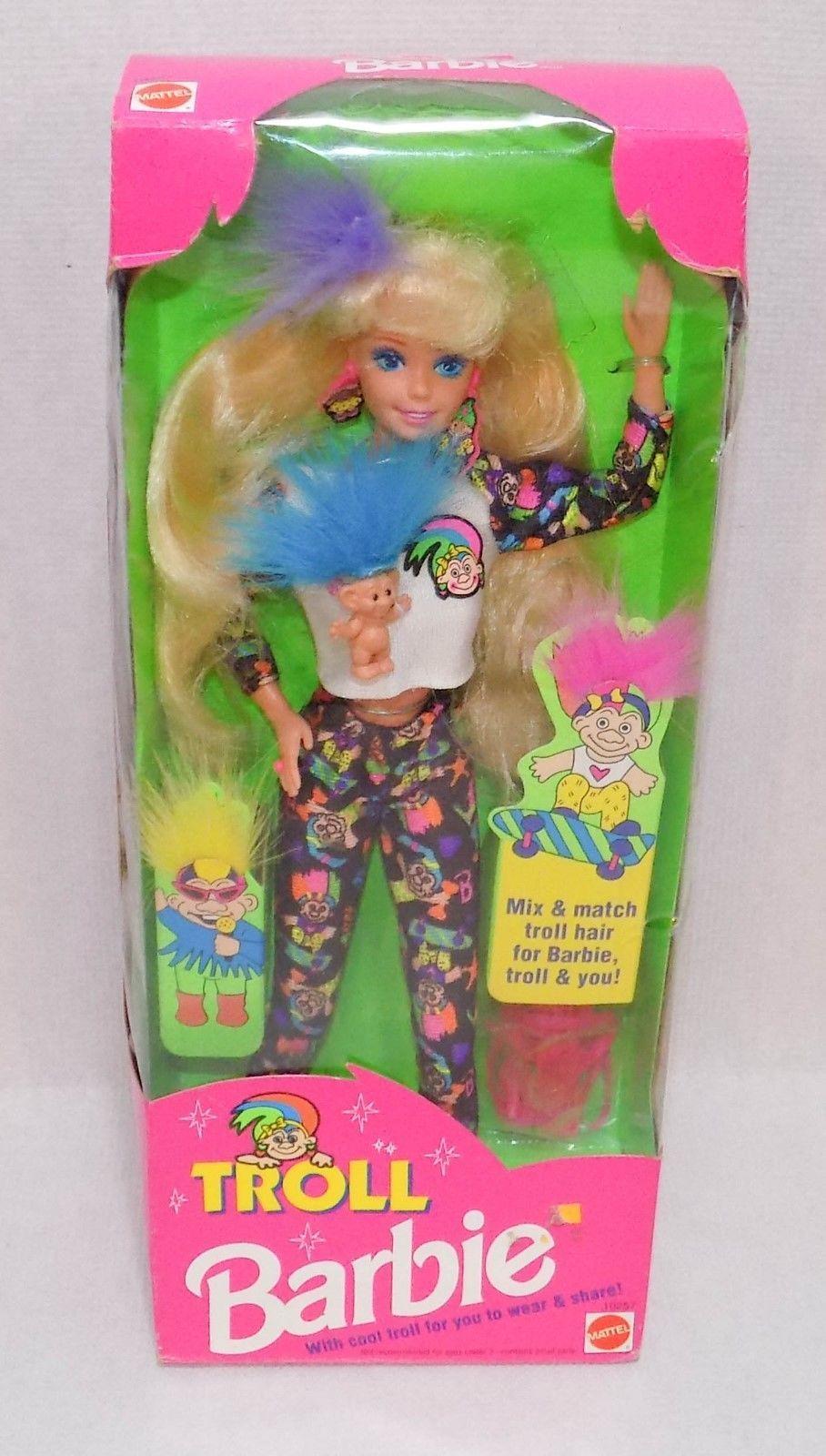 RARE 1992 Troll Barbie NRFB 10257 https://t.co/Za3AAuRlvN https://t.co/UXHRjmxqBq