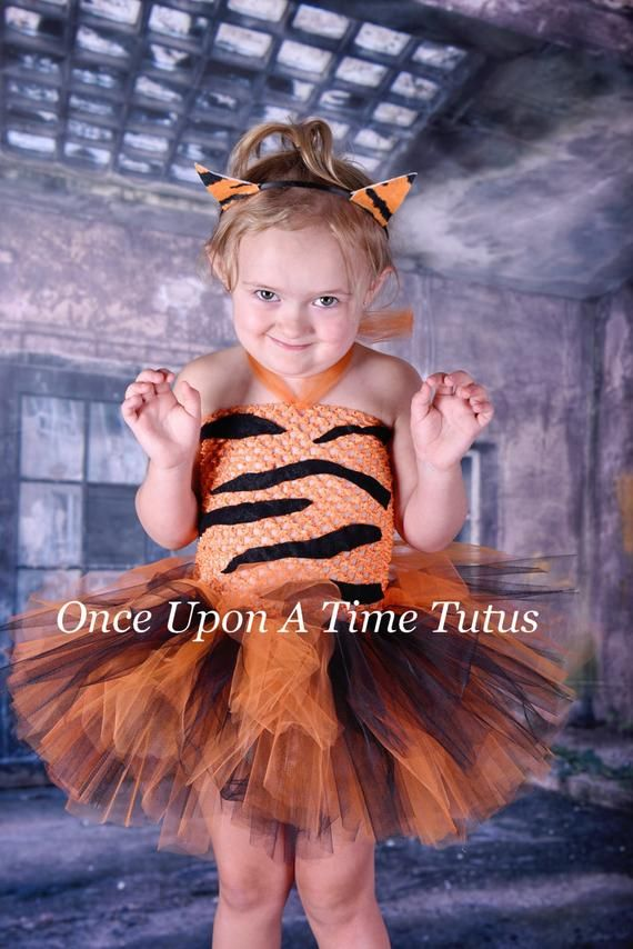 f4c815decd Wild Tiger Tutu Dress - Infant Baby Girl Dress Up Halloween Costume - Girls  Size Newborn 6 12 Months