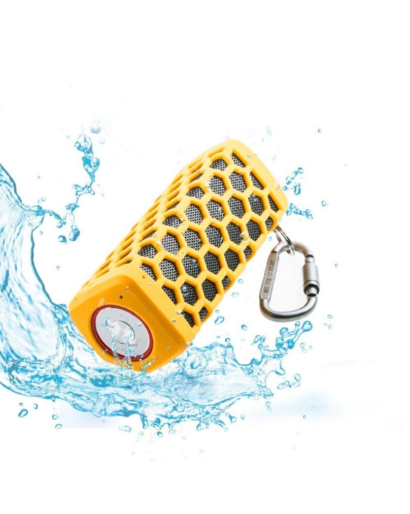 Portable Hi-fi Wireless Bluetooth Speaker - Waterproof - Last minute gift ideas - Connect speaker with a wireless range up to 33 feet away from your bluetooth devices. This is a cool last minute gift idea that's waterproof, dustproof and shockproof. - $49.99