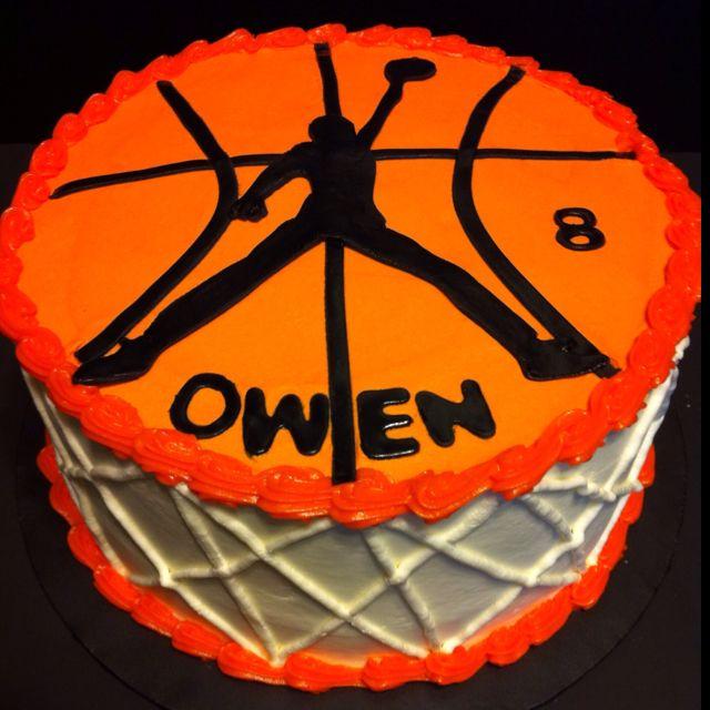 Jordan Basketball Cake Birthday Cakes Pinterest Cake