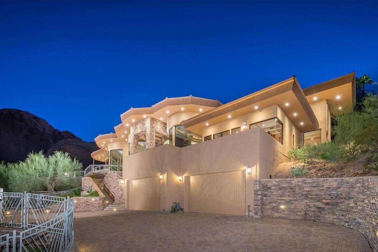 Alicia Keys Phoenix Home 5659 N Camelback Canyon Dr Phoenix Az