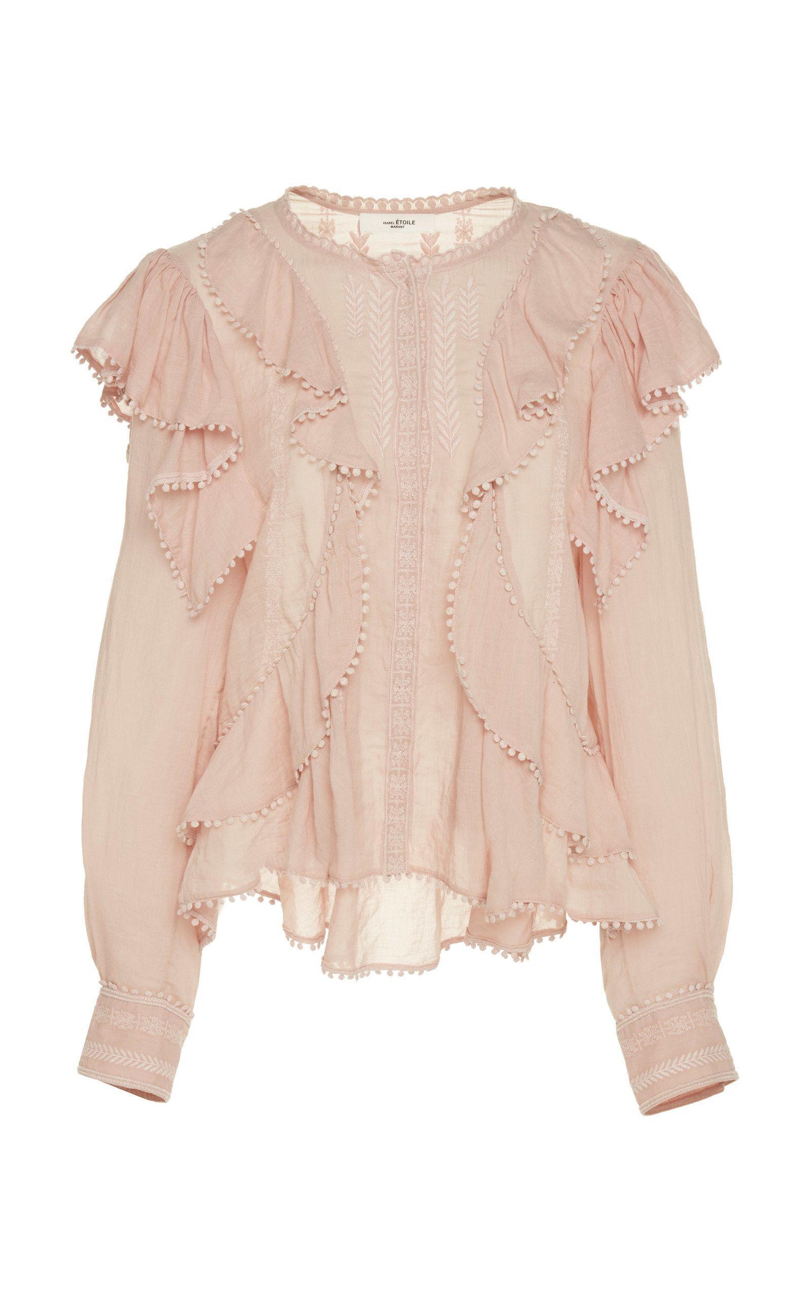 37d58d5d74421 Alea Vintage Lace Top by ISABEL MARANT ÉTOILE for Preorder on Moda Operandi