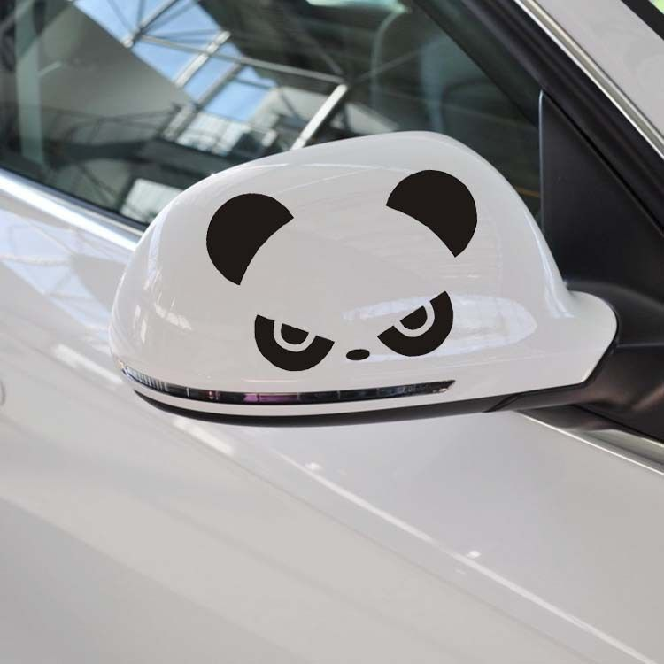 1pc Car Sticker Lovely Panda Car Window Bumper Rearview Mirror Waterproof Decal