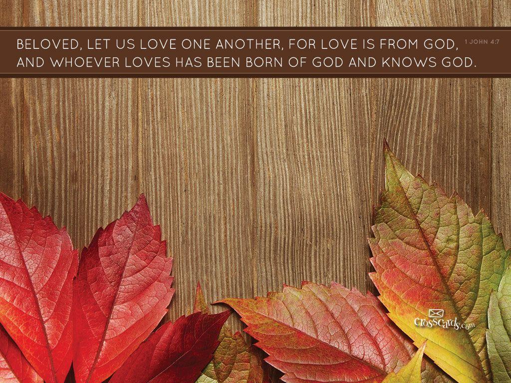 Beloved Desktop Wallpaper  Free Autumn Backgrounds  God