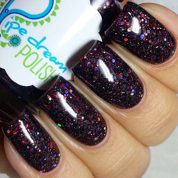 empyrean glitter nail polish by pipedreampolish on Etsy, $8.50 ...