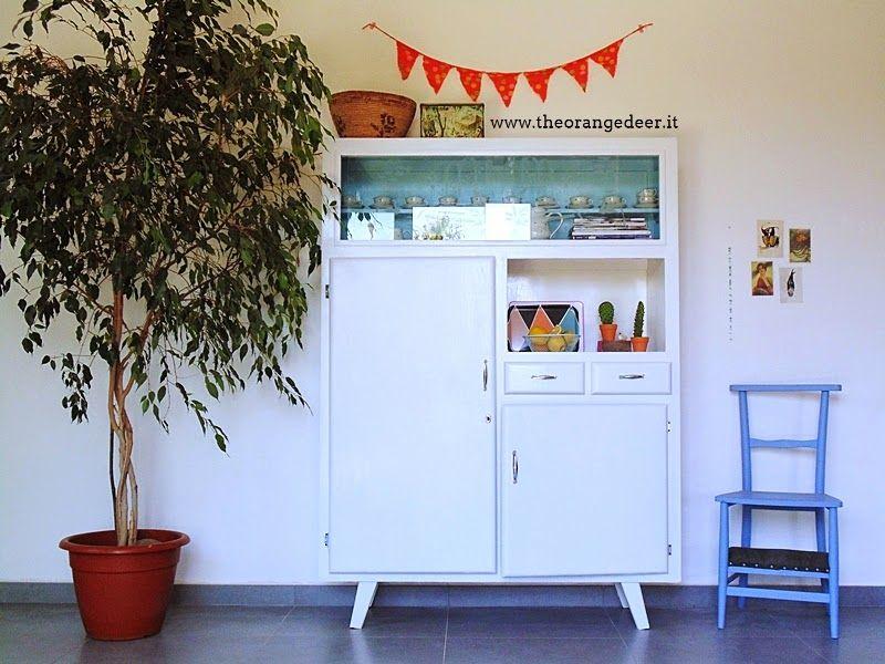 La credenza anni 39 50 il mio gioiellino by the orange deer by fiorella sideboards pinterest - Credenze cucina anni 50 ...
