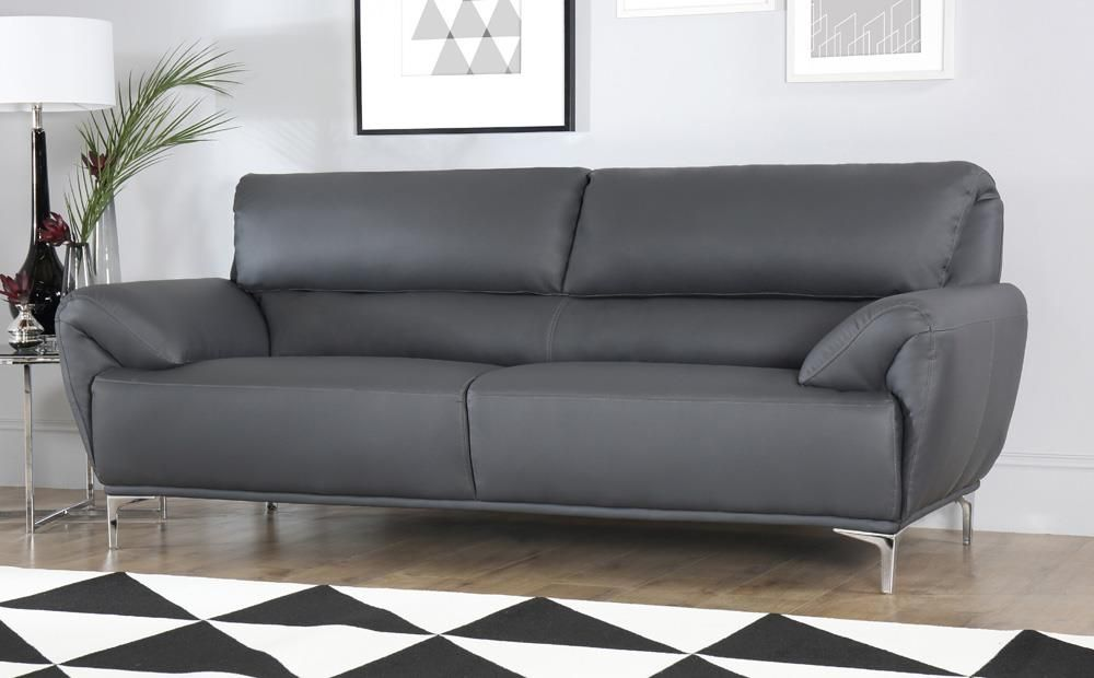 Harlow Slate Grey Plush Fabric L Shape Corner Sofa Lhf Only 699 99 Furniture Choice 760545455806056741 Corner Sofa Living Room Corner Sofa Furniture Choice