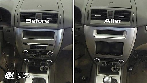 2011 Ford Fusion Dash Replacement With Metra Dash Kit Image 9