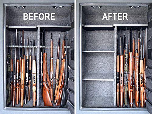 Amazon.com : Gun Storage Solutions Pack of 10 Rifle Rods Starter ...