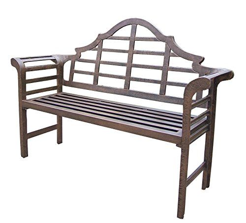 Oakland Living King Louis Cast Aluminum Bench For Https Patiofurnituresets Review