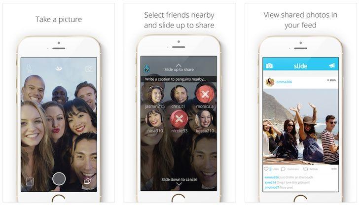 Sabías que Slide, una app para iOS con la que compartir