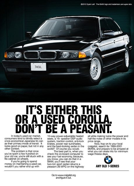 An E38 For A New Age With Images Bmw Vintage Bmw Classic Cars