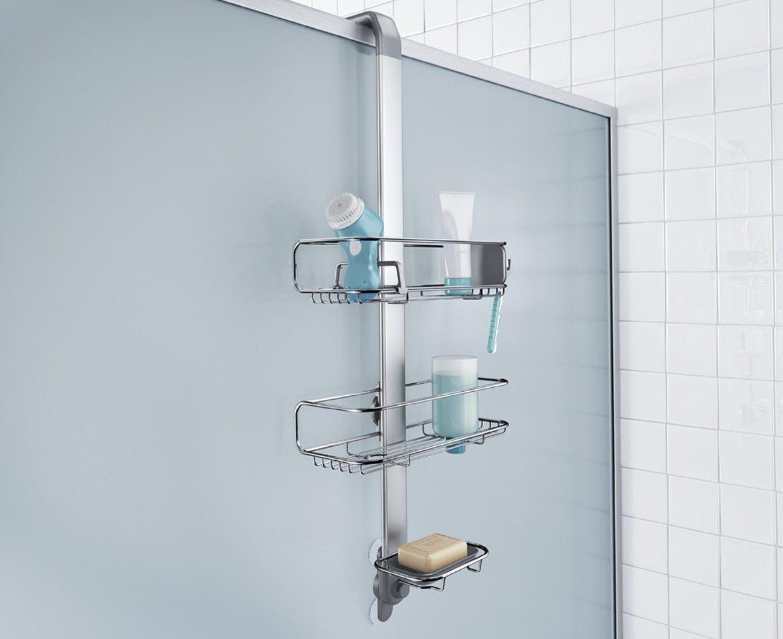 Türhaken-Duschcaddy Edelstahl + eloxiertes Aluminium | Pinterest ...