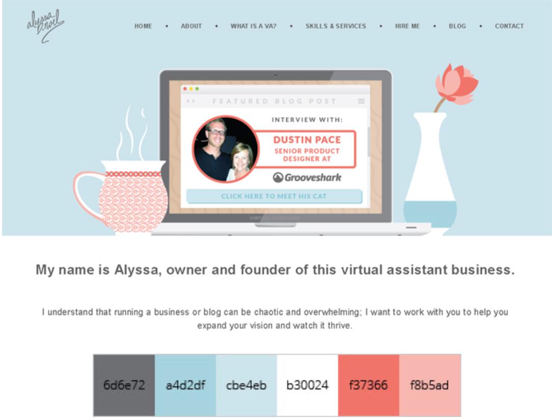 color example Pastel color schemes, Virtual assistant