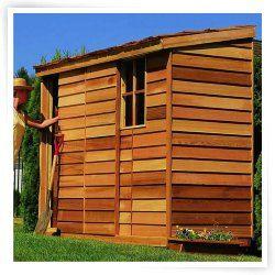 Cedar Shed 8 X 3 Ft. Yardsaver Storage Shed