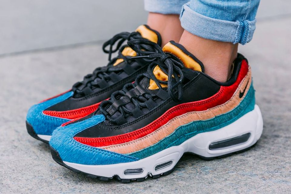 reputable site 6971d 75fc3 Nike Wmns Air Max 95 Premium Multicolor Pony Fur  sneakernews  Sneakers   StreetStyle  Kicks