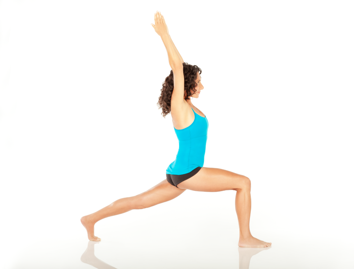 Yoga Pose of the Day Crescent Pose Yoga poses, Yoga