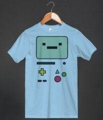 BMO' T-Shirt, Beemo, Bimo, Adventure Time, Buddy, Math, Tee