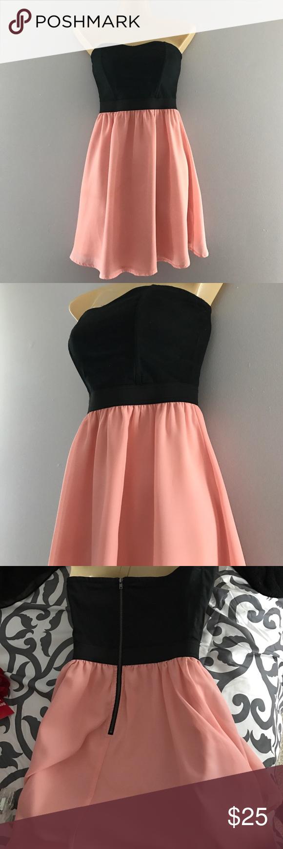 Black and pink formal dress pinterest pink formal dresses