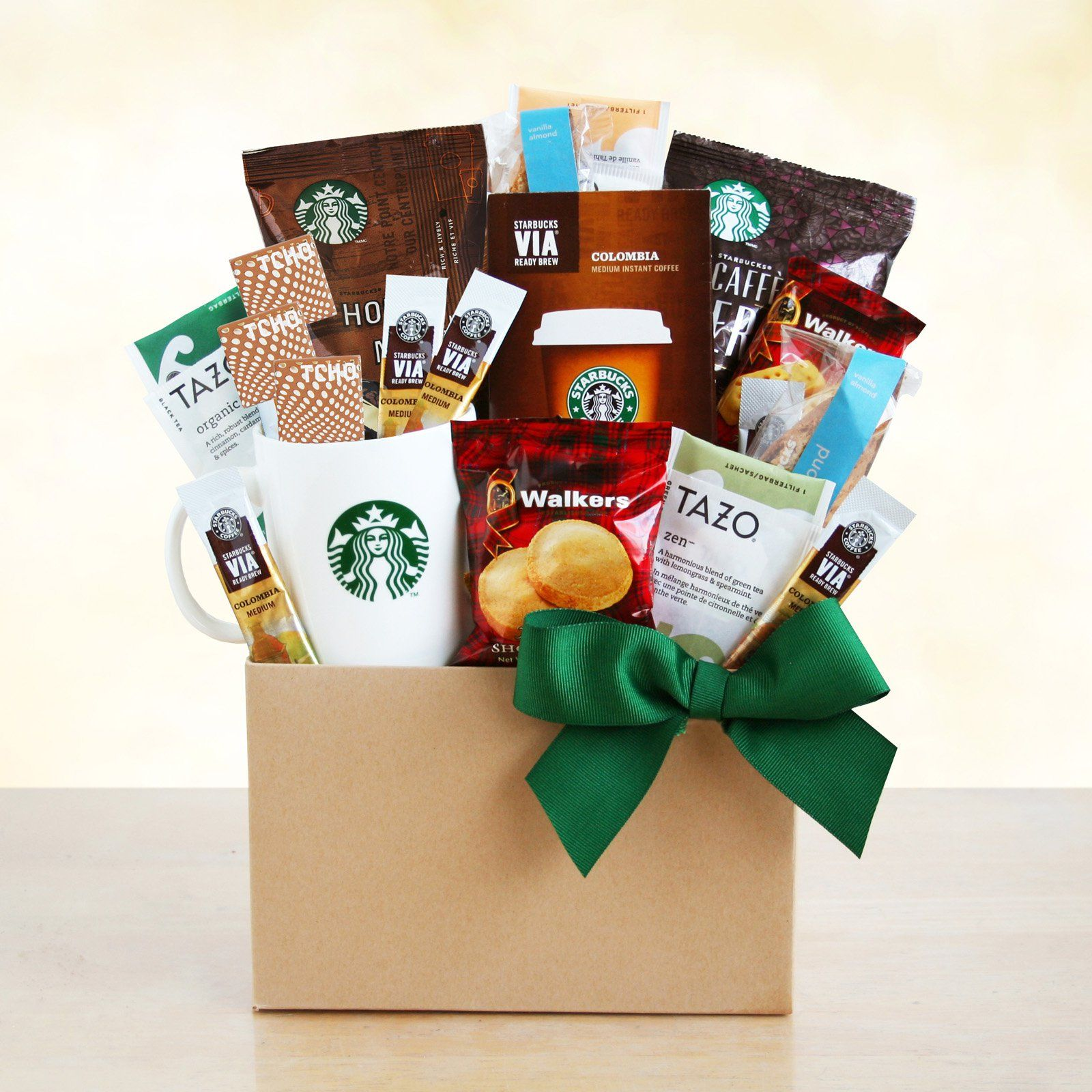 Starbucks Special Sweets and Treats Gift Basket | Break ...
