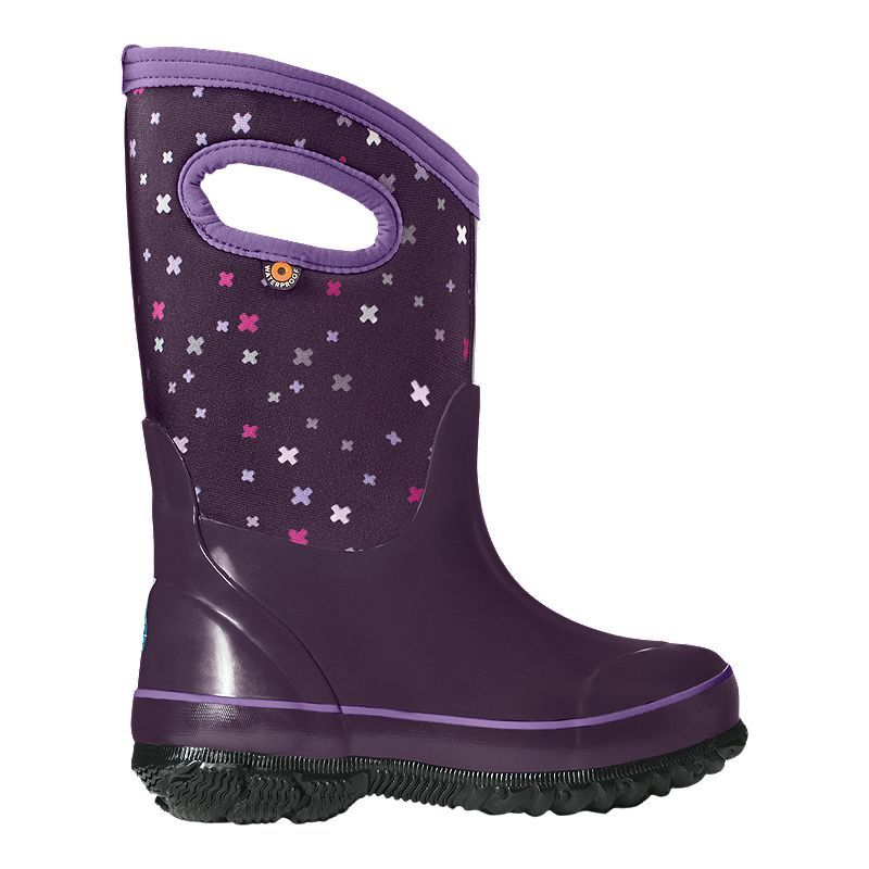 Kids Baby Bogs Construction Green Multi Insulated Wellington Boots Sz Size