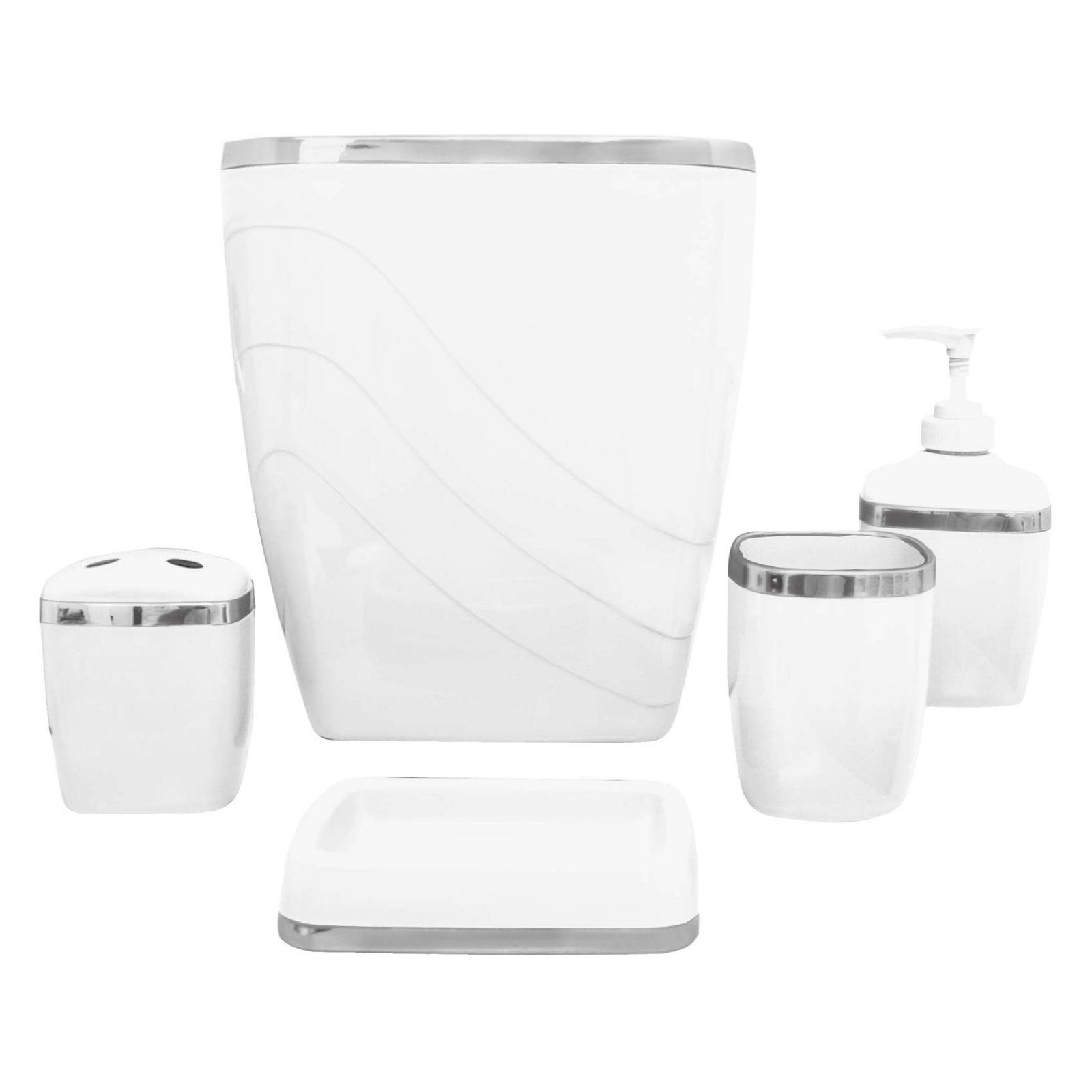 Home Gold Bathroom Accessories Bathroom Accessories Sets