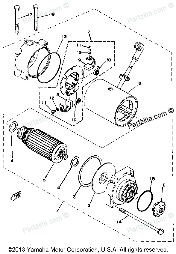 Yamaha Motor Diagram