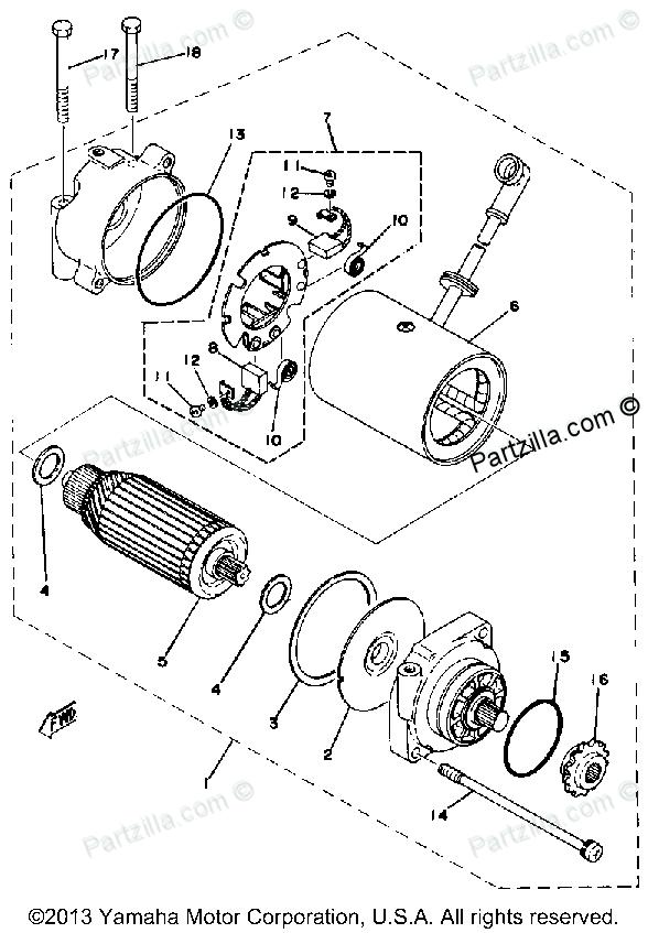 Yamaha Motorcycle Factory Parts