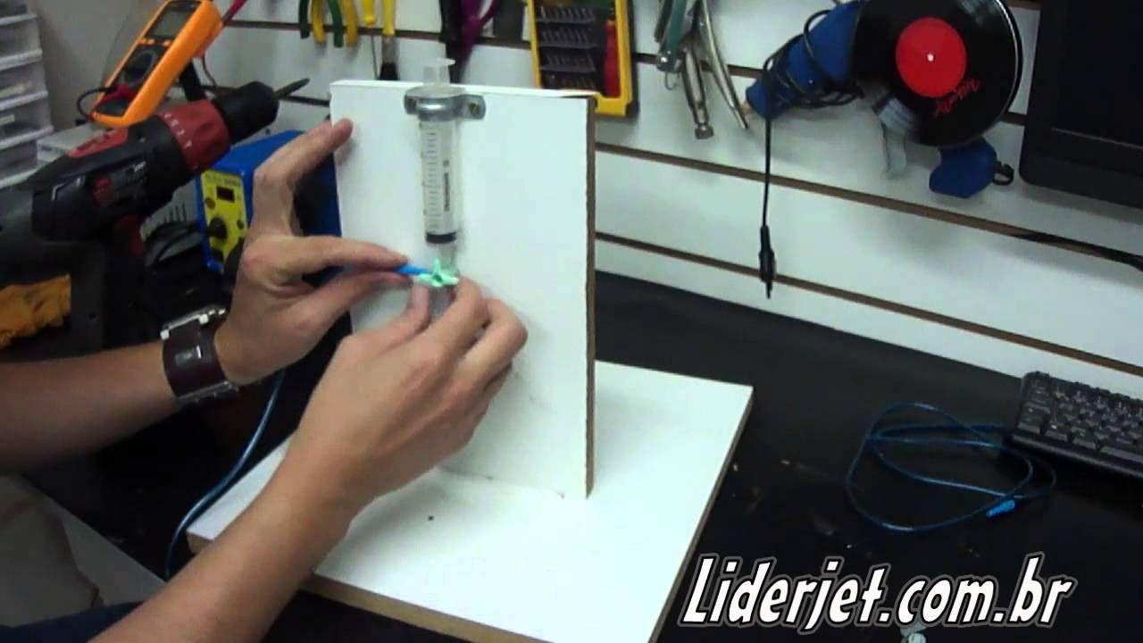 Como fazer uma máquina de recarga de cartuchos de tinta