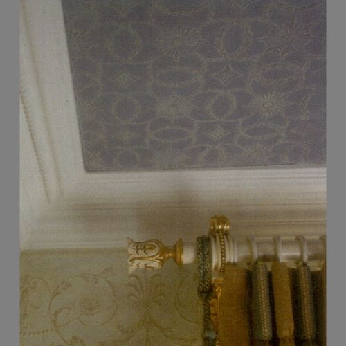 Ceiling Lincrusta Amelia Paintable Wallpaper Rdd1956