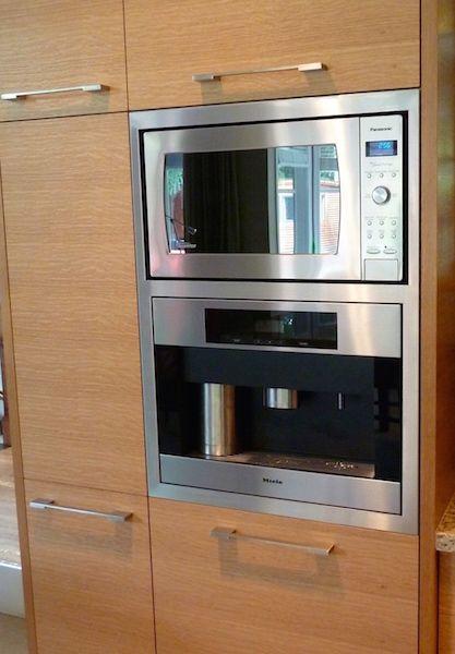 Combination Trim Kit Miele Coffee Maker Panasonic Microwave