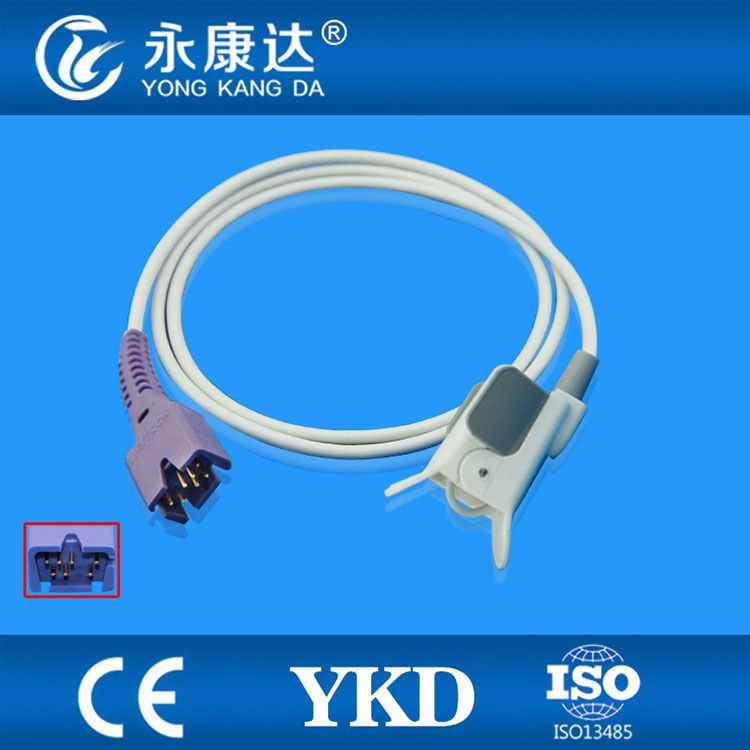 Compatible Reusable Nellcor Oximax DS100A Pediatric Finger Clip Spo2