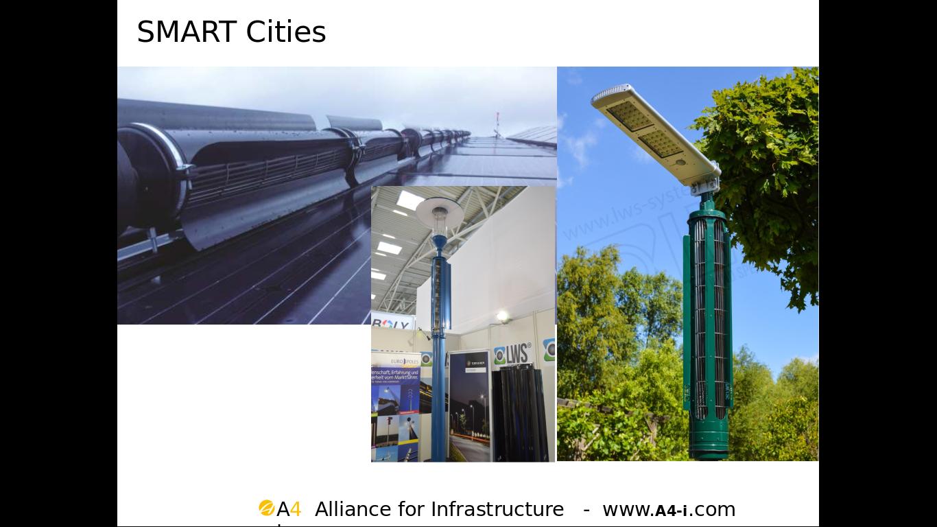 Smart Cities - Lichtmasten der Zukunft bei A4I