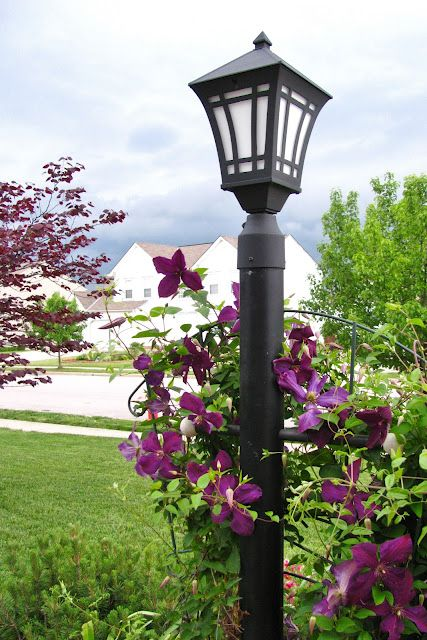 Life In Robin S Nest Outdoor Post Lights Lamp Post Garden Lamps
